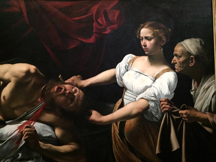 1 judith décapitant holopherne par caravage