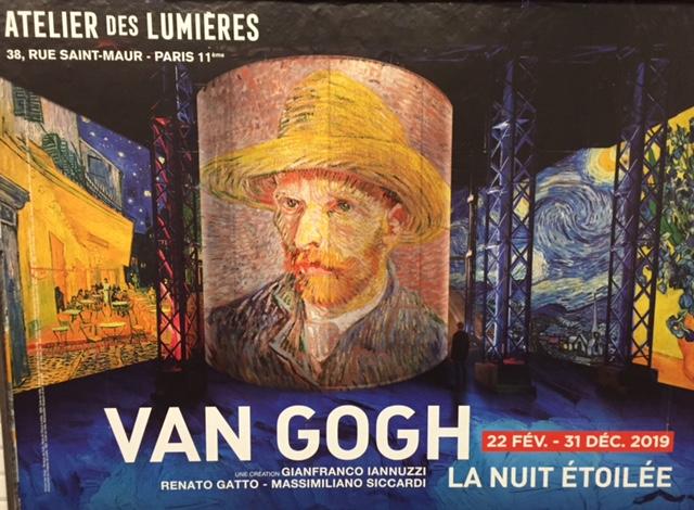 Atelier des lumière- Van Gogh