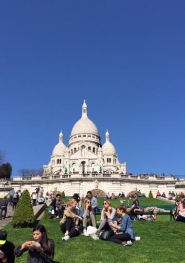 Montmartre Sacre Coeur Church