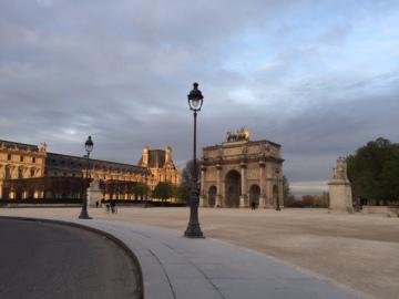 Paris Louvre , Arc de Triomphe Carrosel