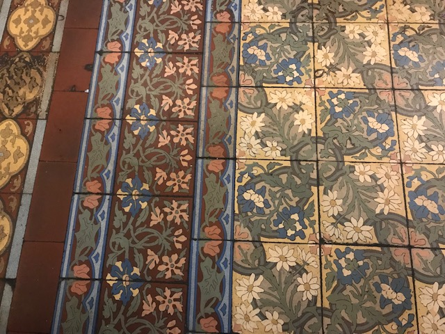 Bouillon Julien floor tiles