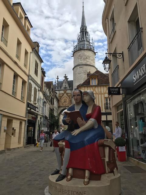 Auxerre sculpture