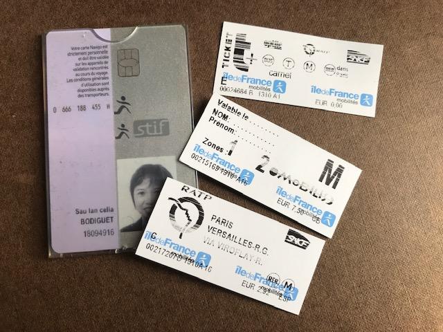 metro tickets