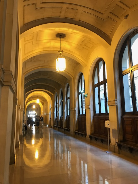 Paris Sorbonne Corridor